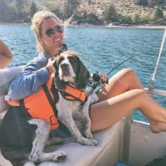 Boat trip with Maya, the fun police!