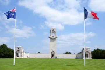 Travel and History: The Australian War Memorial at Villiers, Northern France.