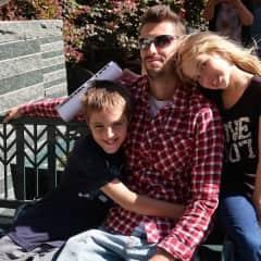 Justin, Jacki, Mackenzie, Xavier