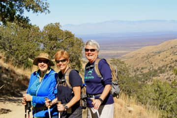 Hiking in Madera Canyon, on Nature Trail