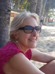 Enjoying the beaches in Mexico.