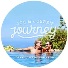 Joe and Josee, full time travelers since 2015. Dominical, Costa Rica