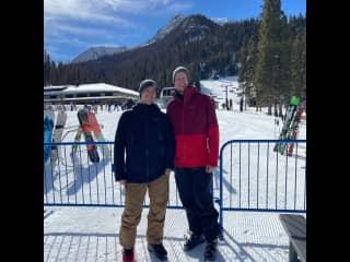 Skiing in Taos, NM