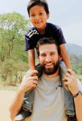 Alfonzo and I posing for a picture in Guatemala!