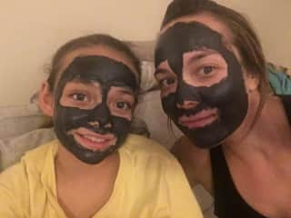 Spa day with my daughter!