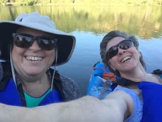 Our favorite pastime - Kayaking