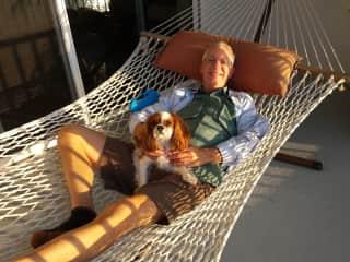 Florida. Ollie and Doug
