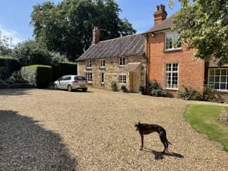 Home in charming Rutland village..