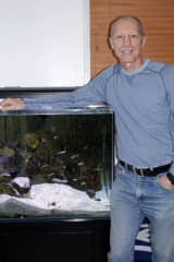 With one of my aquariums