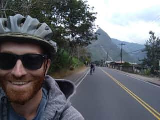Enjoying the montains on Ecuador