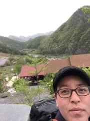 Mountain cabin, Korea