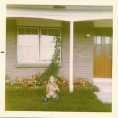 Me at 8 years old with my dog Candy!