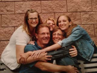 Our Family - Dan, Paige, Jessica, Rebecca and Callie - Love Never Fails!
