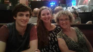 Jill, son and friend