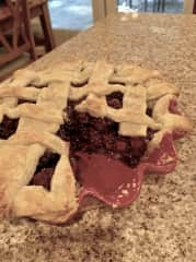 Blackberry pie anyone??  Baking is my #1 domestic passion!