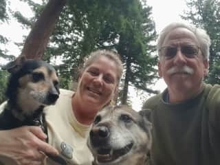 Trail fun with Winnie & Hilda