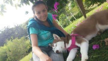 Biviana and little Maya
