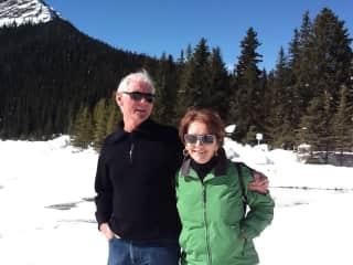 Jan and Les in Alberta Canada