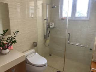 One of three bathrooms.