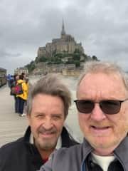 Mont St. Michele Normandy France.