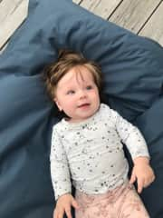 This is Elvira my first grandchild born in March 2019.