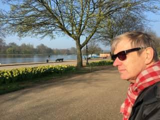 Leigh on holiday- Hyde Park