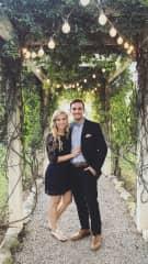 Emily and I celebrating a friend's wedding.