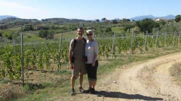Daniel and I, in Italy, September 2018