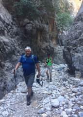 Hiking Kritsa Gorge in Crete