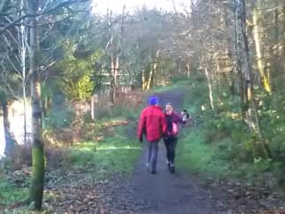 Gerry and I out for an Autumn walk