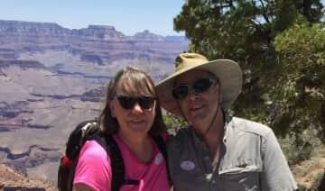 Don and Jen at Grand Canyon 2018