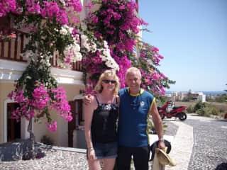 Santorini home stay