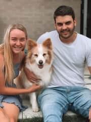 My family - Tara, Ziggy and Zac