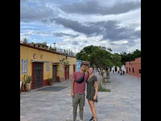 Wandering in the streets of Mexico