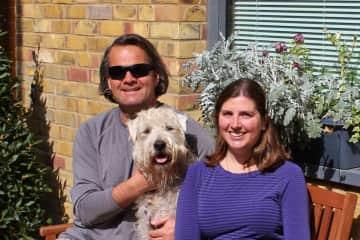 Kris, Woody and Sarah in London
