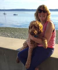 Seattle pet sit with Finnegan.
