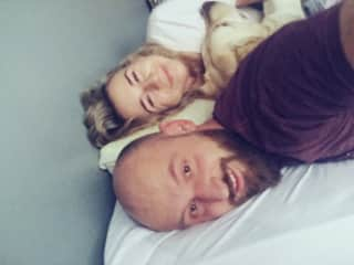 Me, Marek & Stefan (friend's dog)
