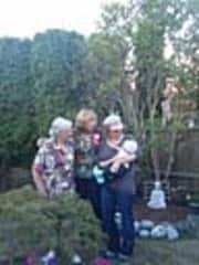 4 generation Great Grandma, Grandma, Daughter and grandson