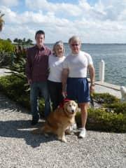 Larry, Susan, Bradley (son) & Chester