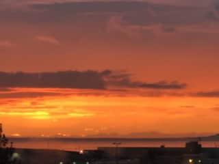 Summer sky in Iceland