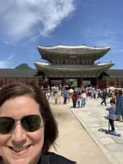 Aggie's mom in Seoul