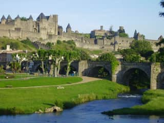 Carcassonne, the old City