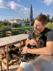 Matt and Spikey, in Limassol, Cyprus