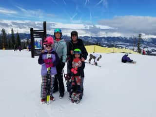 We're an active family that loves alll outdoor adventures!