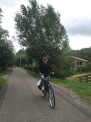 2019 Visiting my younger daughter in The Netherlands leads to long bike rides