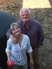 Jane and husband, Hal