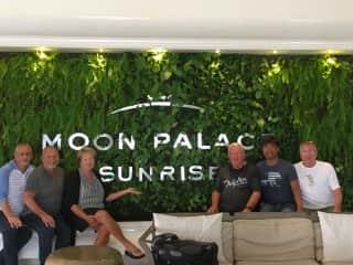 Friends in Cancun.