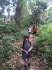 A little walk around Tarapoto to find a swimming hole