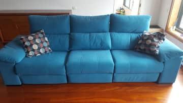 Big comfy recliner couch