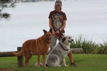 """Max, """"Bear & Molly"""",  Australia"""